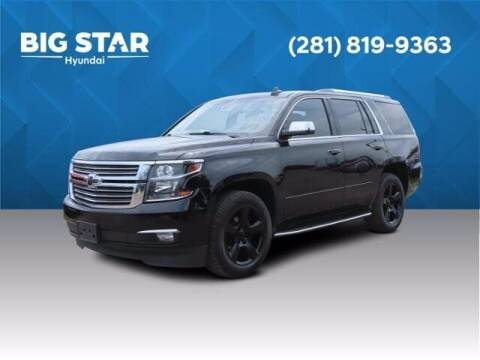 2016 Chevrolet Tahoe for sale at BIG STAR HYUNDAI in Houston TX