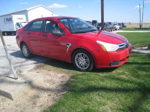 2008 Ford Focus for sale at BEST CAR MARKET INC in Mc Lean IL