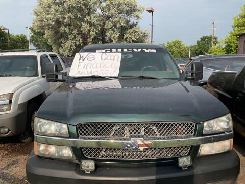 2003 Chevrolet Silverado 2500HD for sale at Continental Auto Sales in White Bear Lake MN