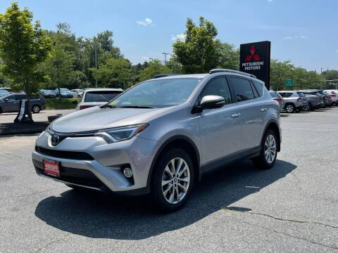 2018 Toyota RAV4 Hybrid for sale at Midstate Auto Group in Auburn MA