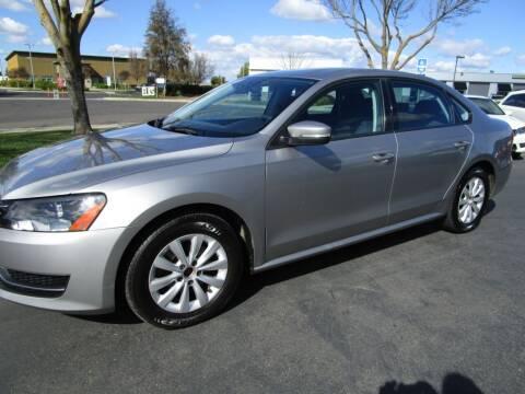 2013 Volkswagen Passat for sale at KM MOTOR CARS in Modesto CA
