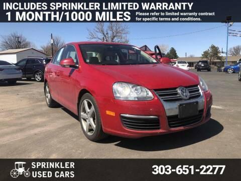 2010 Volkswagen Jetta for sale at Sprinkler Used Cars in Longmont CO