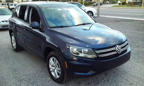 2012 Volkswagen Tiguan for sale at Pinellas Auto Brokers in Saint Petersburg FL