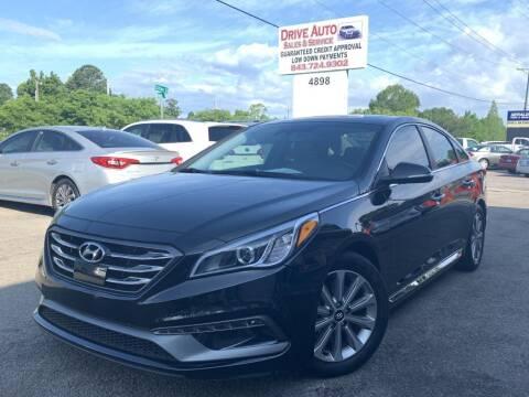 2017 Hyundai Sonata for sale at Drive Auto Sales & Service, LLC. in North Charleston SC