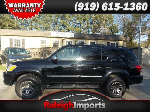2007 Toyota Sequoia for sale at Raleigh Imports in Raleigh NC