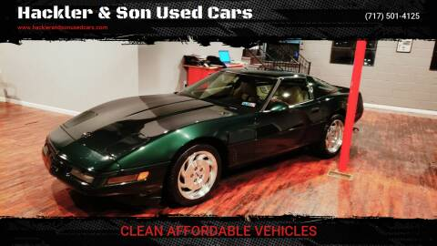 1996 Chevrolet Corvette for sale at Hackler & Son Used Cars in Red Lion PA