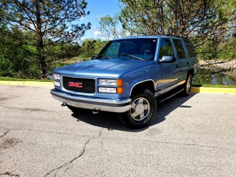 1995 GMC Yukon for sale at Excalibur Auto Sales in Palatine IL