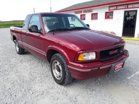 1996 GMC Sonoma for sale at Sarpy County Motors in Springfield NE