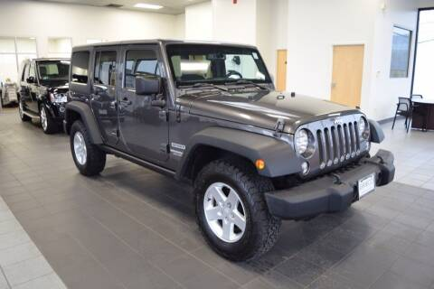 2014 Jeep Wrangler Unlimited for sale at BMW OF NEWPORT in Middletown RI