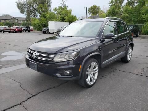 2013 Volkswagen Tiguan for sale at UTAH AUTO EXCHANGE INC in Midvale UT