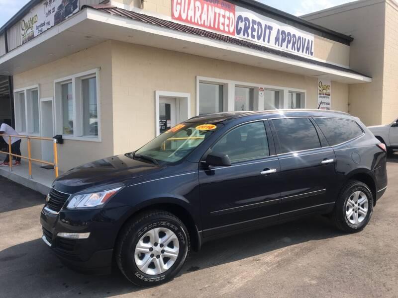 2016 Chevrolet Traverse for sale at Suarez Auto Sales in Port Huron MI