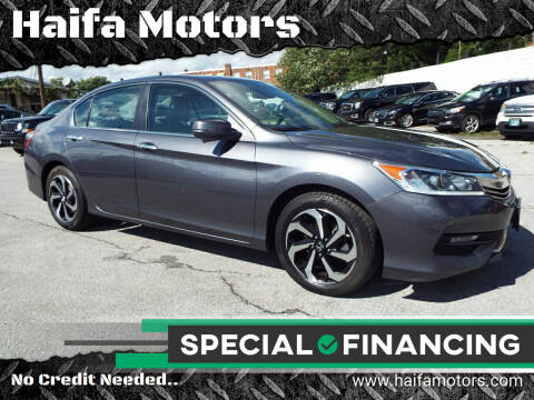 2017 Honda Accord for sale at Haifa Motors in Philadelphia PA