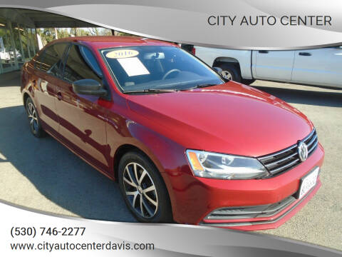 2016 Volkswagen Jetta for sale at City Auto Center in Davis CA