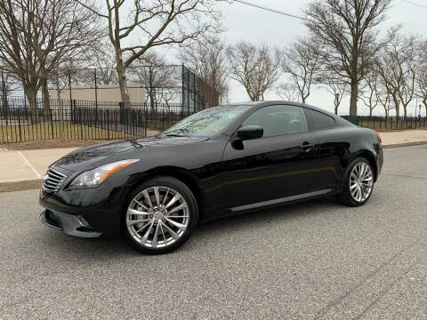 2012 Infiniti G37 Coupe for sale at Ultimate Motors in Port Monmouth NJ