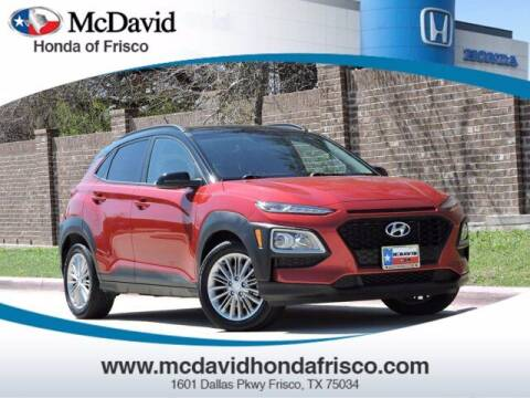 2018 Hyundai Kona for sale at DAVID McDAVID HONDA OF IRVING in Irving TX