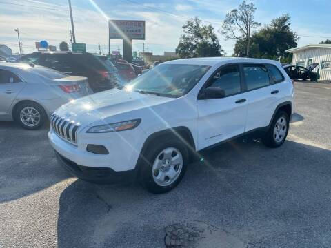 2014 Jeep Cherokee for sale at Jamrock Auto Sales of Panama City in Panama City FL