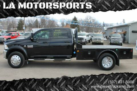 2018 RAM Ram Chassis 5500 for sale at LA MOTORSPORTS in Windom MN