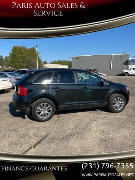 2012 Ford Edge for sale at Paris Auto Sales & Service in Big Rapids MI