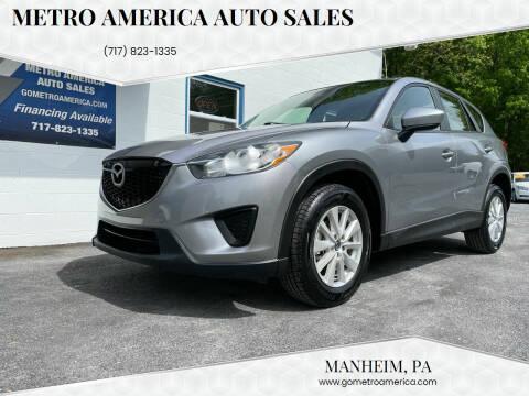 2013 Mazda CX-5 for sale at METRO AMERICA AUTO SALES of Manheim in Manheim PA