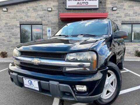 2003 Chevrolet TrailBlazer for sale at GREENVILLE AUTO & RV in Greenville WI