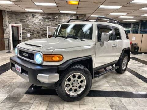 2013 Toyota FJ Cruiser for sale at Sonias Auto Sales in Worcester MA