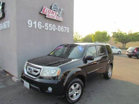 2009 Honda Pilot for sale at LIONS AUTO SALES in Sacramento CA