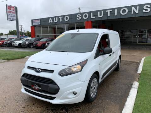 2015 Ford Transit Connect Cargo for sale at Auto Solutions in Warr Acres OK