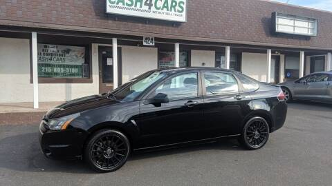 2010 Ford Focus for sale at Cash 4 Cars in Penndel PA
