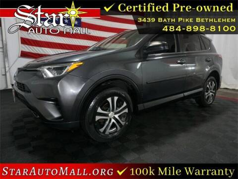 2017 Toyota RAV4 for sale at STAR AUTO MALL 512 in Bethlehem PA