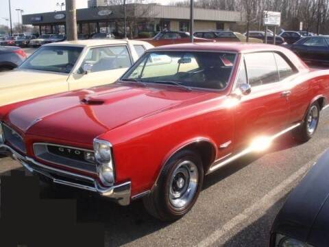 1966 Pontiac 2 DR. HARD TOP for sale at Black Tie Classics in Stratford NJ