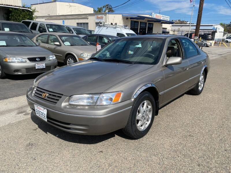 1999 Toyota Camry for sale at Ricos Auto Sales in Escondido CA