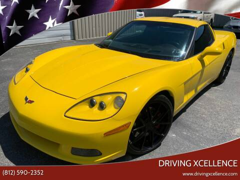 2007 Chevrolet Corvette for sale at Driving Xcellence in Jeffersonville IN