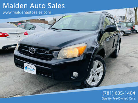 2006 Toyota RAV4 for sale at Malden Auto Sales in Malden MA