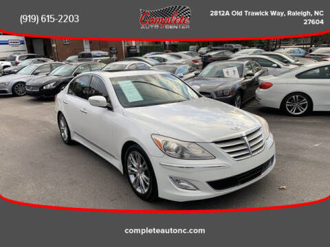 2012 Hyundai Genesis for sale at Complete Auto Center , Inc in Raleigh NC