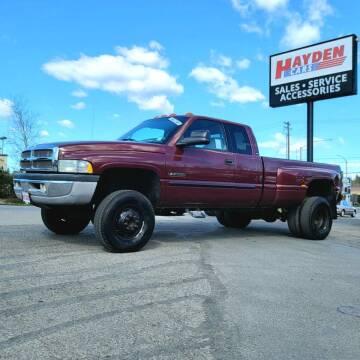 2002 Dodge Ram Pickup 3500 for sale at Hayden Cars in Coeur D Alene ID