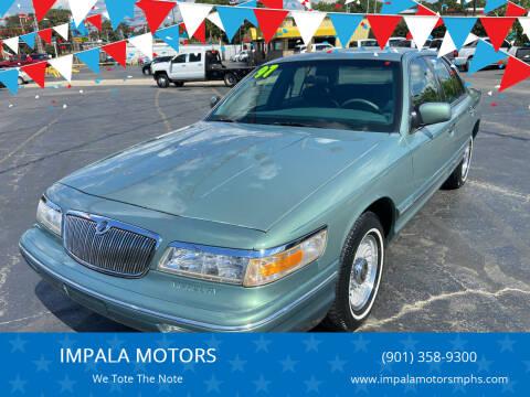 1997 Mercury Grand Marquis for sale at IMPALA MOTORS in Memphis TN