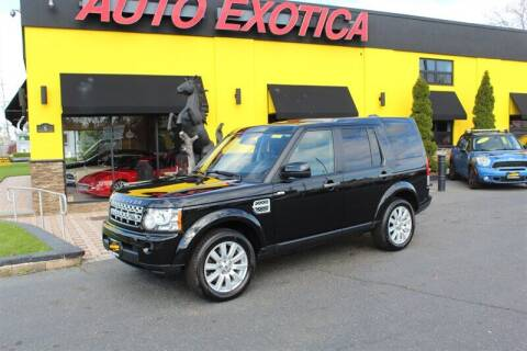 2013 Land Rover LR4 for sale at Auto Exotica in Red Bank NJ