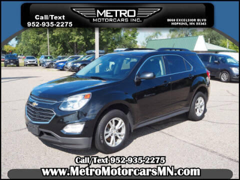 2017 Chevrolet Equinox for sale at Metro Motorcars Inc in Hopkins MN