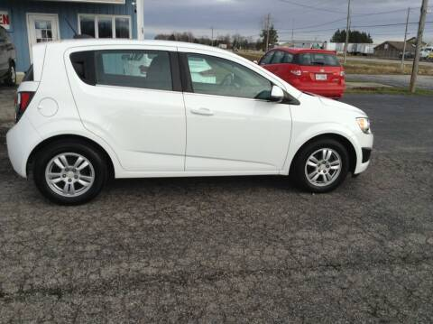 2015 Chevrolet Sonic for sale at Kevin's Motor Sales in Montpelier OH