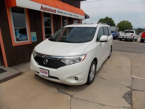 2011 Nissan Quest for sale at Autoland in Cedar Rapids IA