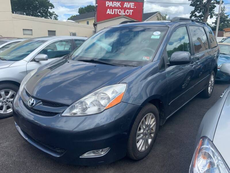 2008 Toyota Sienna for sale at Park Avenue Auto Lot Inc in Linden NJ