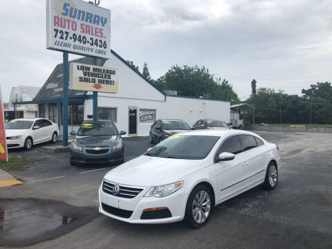 2012 Volkswagen CC for sale at Sunray Auto Sales Inc. in Holiday FL