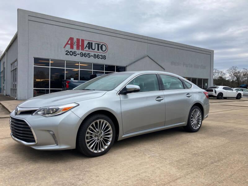 2016 Toyota Avalon for sale at A & H Auto Sales in Clanton AL