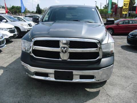 2013 RAM Ram Pickup 1500 for sale at SUPERAUTO AUTO SALES INC in Hialeah FL