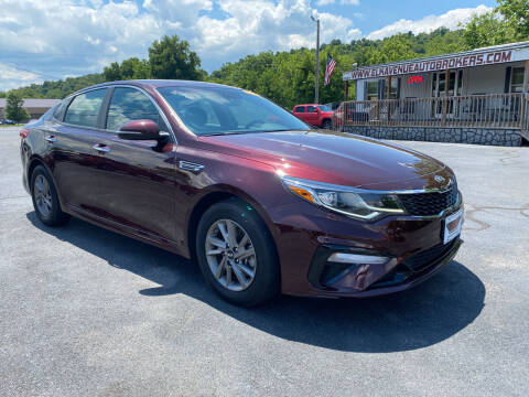 2020 Kia Optima for sale at Elk Avenue Auto Brokers in Elizabethton TN