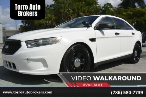 2014 Ford Taurus for sale at Torro Auto Brokers in Miami FL