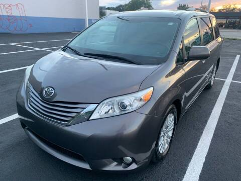 2015 Toyota Sienna for sale at Eden Cars Inc in Hollywood FL