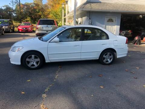 2005 Honda Civic for sale at 22nd ST Motors in Quakertown PA