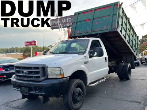 2003 Ford F-550 Super Duty for sale at Divan Auto Group in Feasterville Trevose PA