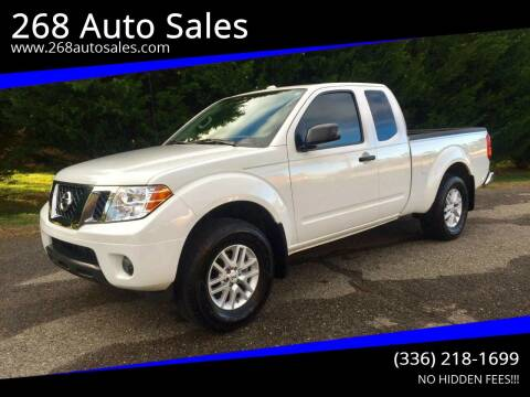 2016 Nissan Frontier for sale at 268 Auto Sales in Dobson NC